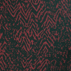 Jacquard Double Knit Texture Burgundy/Black - Sold Out - Style Maker Fabrics