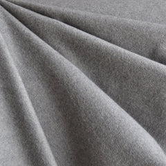 Twill Weave Italian Flannel Shirting Grey - Fabric - Style Maker Fabrics