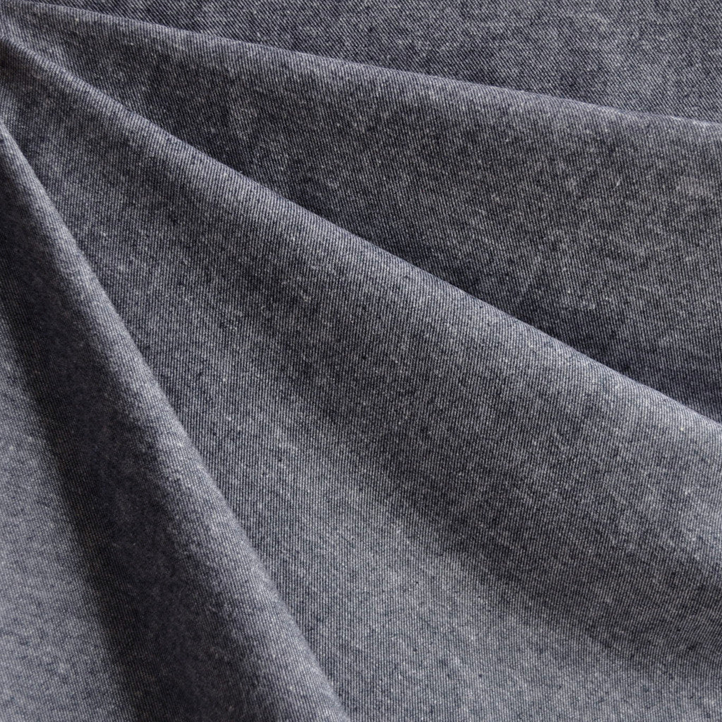 Twill Weave Cotton Flannel Indigo - Fabric - Style Maker Fabrics