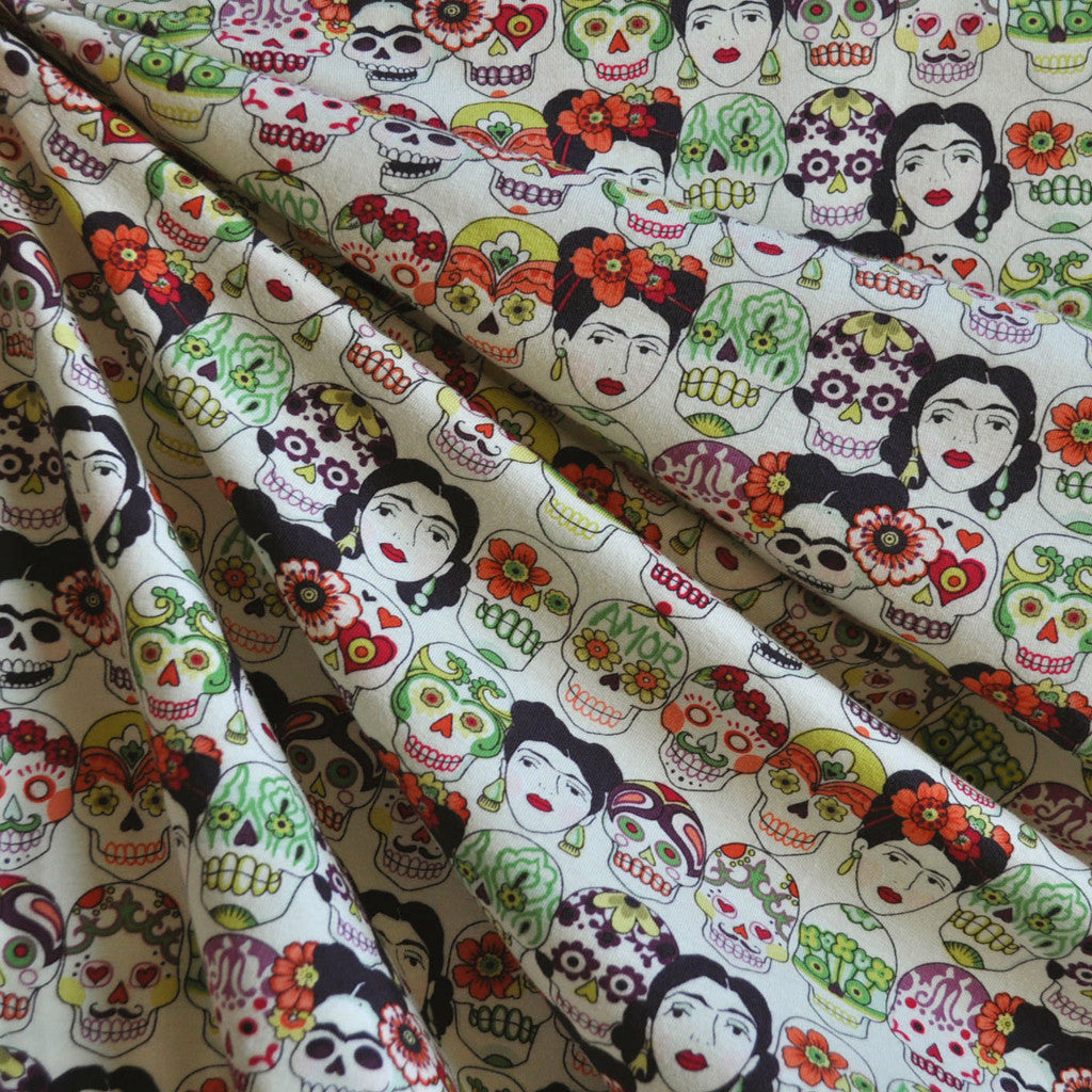 Knifty Knit Gotas de Amor Jersey Knit Tea - Sold Out - Style Maker Fabrics