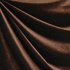 Stretch Velvet Solid Espresso - Sold Out - Style Maker Fabrics
