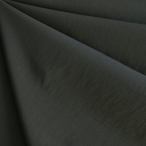 Fine Twill Nylon Blend Dark Olive Green