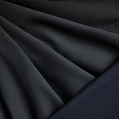Double Face Athletic Knit Solid Black - Fabric - Style Maker Fabrics
