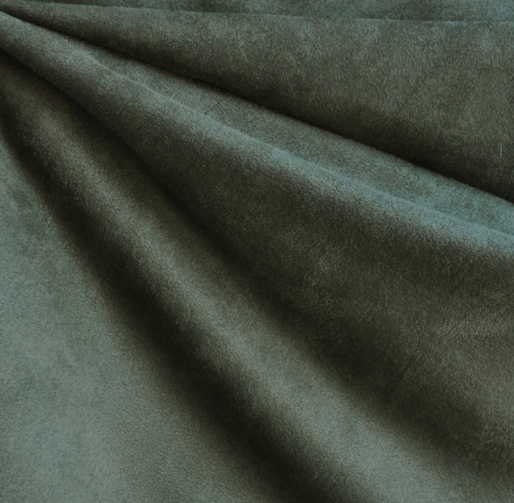 Luxury Faux Suede Olive - Sold Out - Style Maker Fabrics