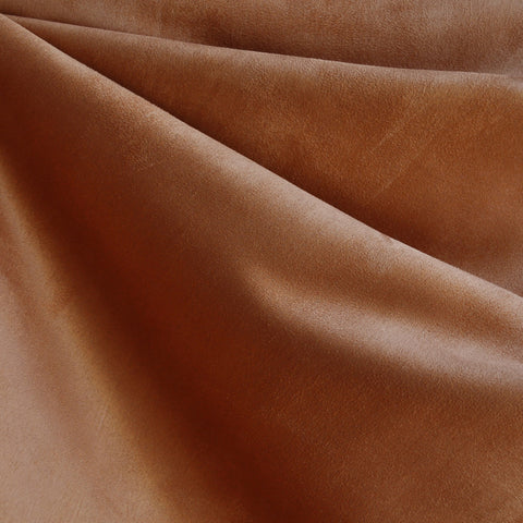 Luxury Faux Suede Chestnut