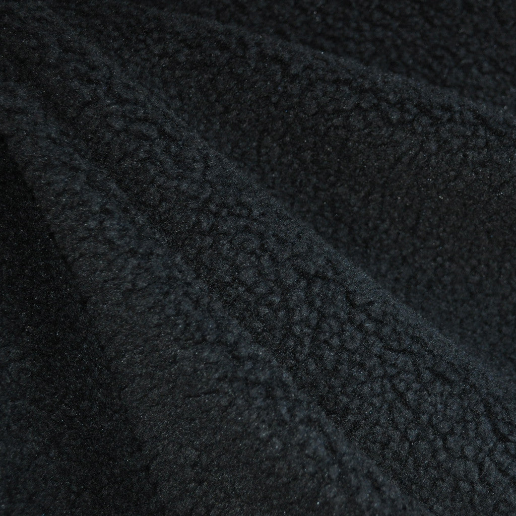 Plush Faux Shearling Black - Fabric - Style Maker Fabrics