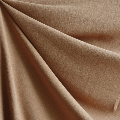 Rayon Crepe Solid Caramel SY