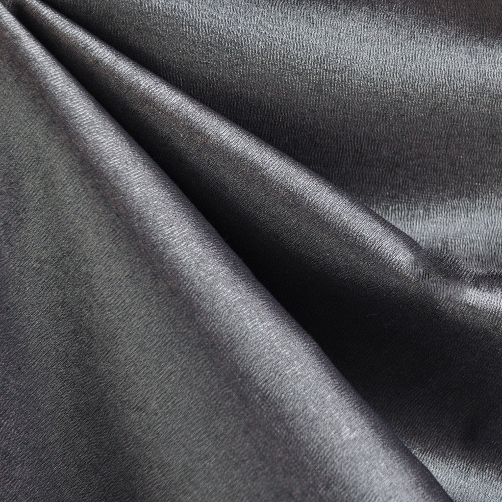 Metallic Stretch Woven Crepe Suiting Pewter - Fabric - Style Maker Fabrics