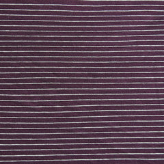 Jersey Knit Pin Stripe Burgundy/White - Sold Out - Style Maker Fabrics