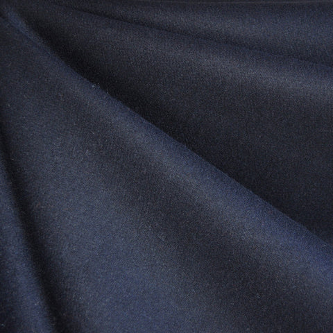 Melton Wool Solid Navy