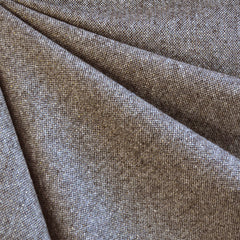 Metallic Tweed Wool Suiting Brown/Gold - Sold Out - Style Maker Fabrics