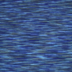 Athletic Jersey Knit Space Dye Blue - Sold Out - Style Maker Fabrics