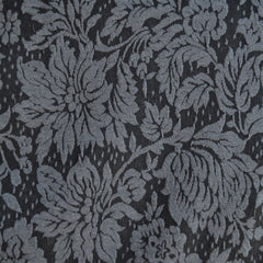 Damask Jacquard Double Knit Black/Grey - Sold Out - Style Maker Fabrics
