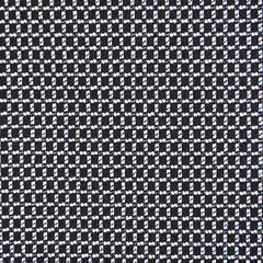 Woven Check Suiting Black/White/Silver - Fabric - Style Maker Fabrics