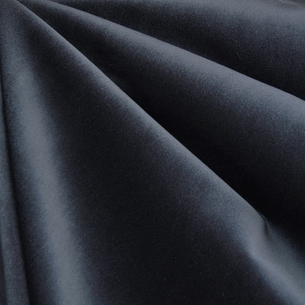 Stretch Velveteen Charcoal - Fabric - Style Maker Fabrics