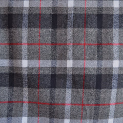 Mammoth Flannel Classic Plaid Grey/Red - Sold Out - Style Maker Fabrics