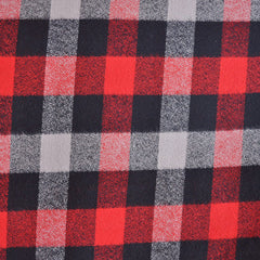 Mammoth Flannel Plaid Check Red/Black - Sold Out - Style Maker Fabrics