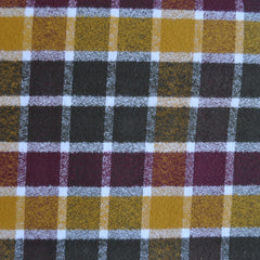 Mammoth Flannel Square Plaid Autumn - Fabric - Style Maker Fabrics