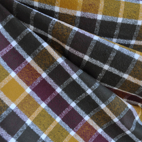 Mammoth Flannel Square Plaid Autumn