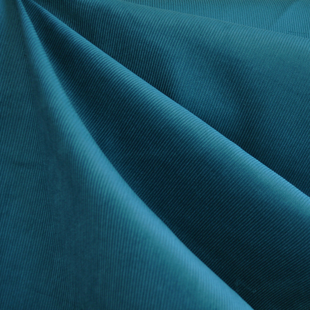 Micro Wale Corduroy Ocean - Sold Out - Style Maker Fabrics