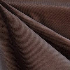 Micro Wale Corduroy Chocolate - Sold Out - Style Maker Fabrics