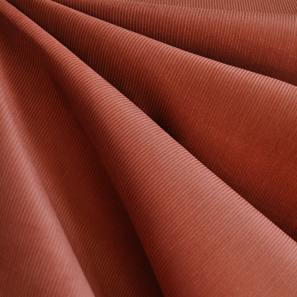 Small Wale Corduroy Rust SY - Selvage Yard - Style Maker Fabrics