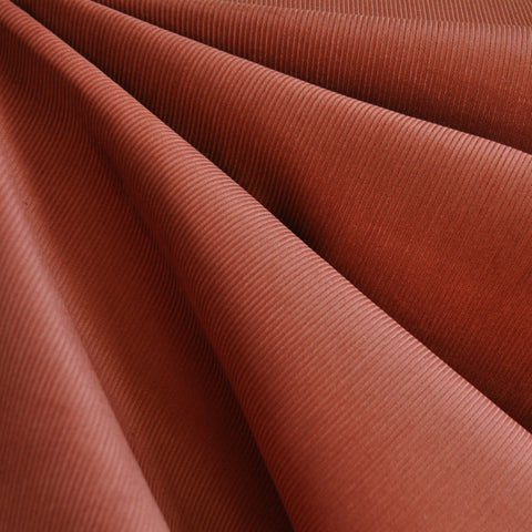 Classic Mid Wale Corduroy Solid Rust—Preorder