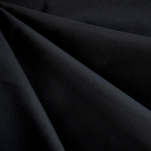 Stretch Twill Solid Black