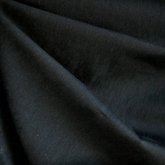Brushed Fine Twill Nylon Blend Black SY - Sold Out - Style Maker Fabrics