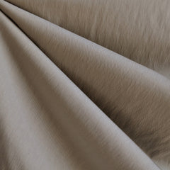 Fine Twill Nylon Blend Solid Stone - Sold Out - Style Maker Fabrics