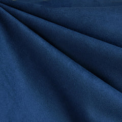 Luxury Faux Suede Navy - Fabric - Style Maker Fabrics