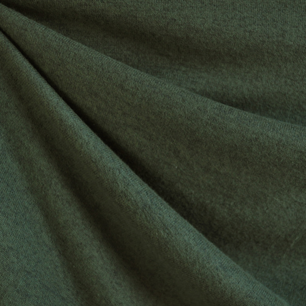 Brushed Sweater Knit Olive Green - Sold Out - Style Maker Fabrics