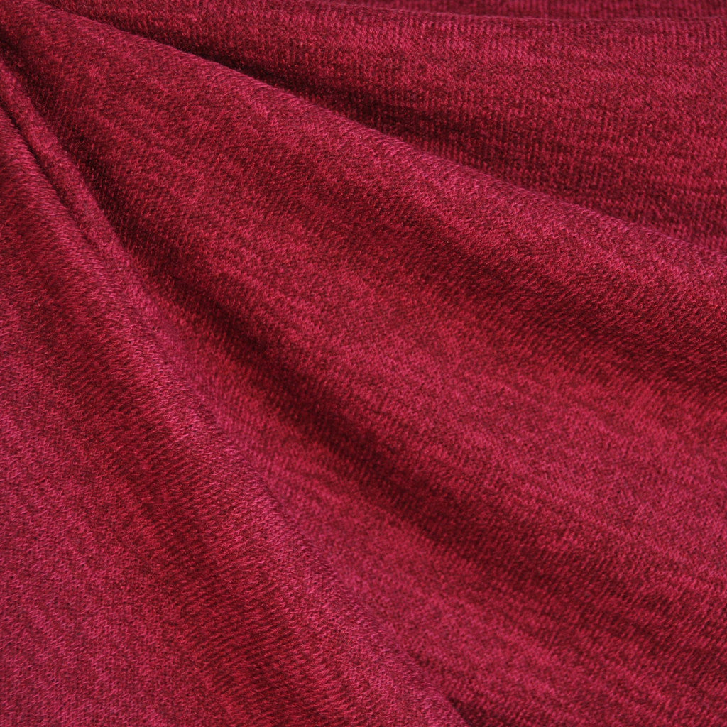 Marbled Sweater Knit Crimson - Fabric - Style Maker Fabrics