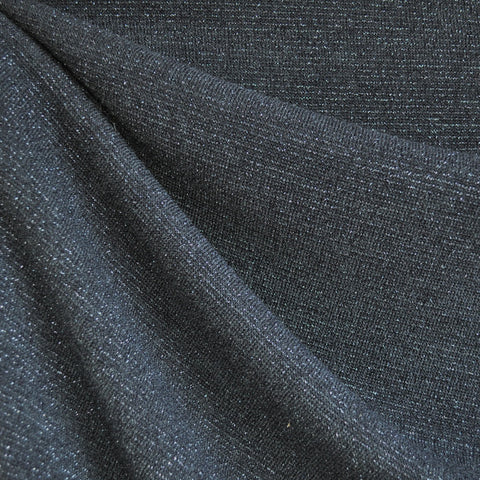 Textured Sweater Knit Slate/Silver