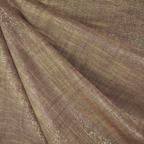 Manchester Metallic Shirting Bronze