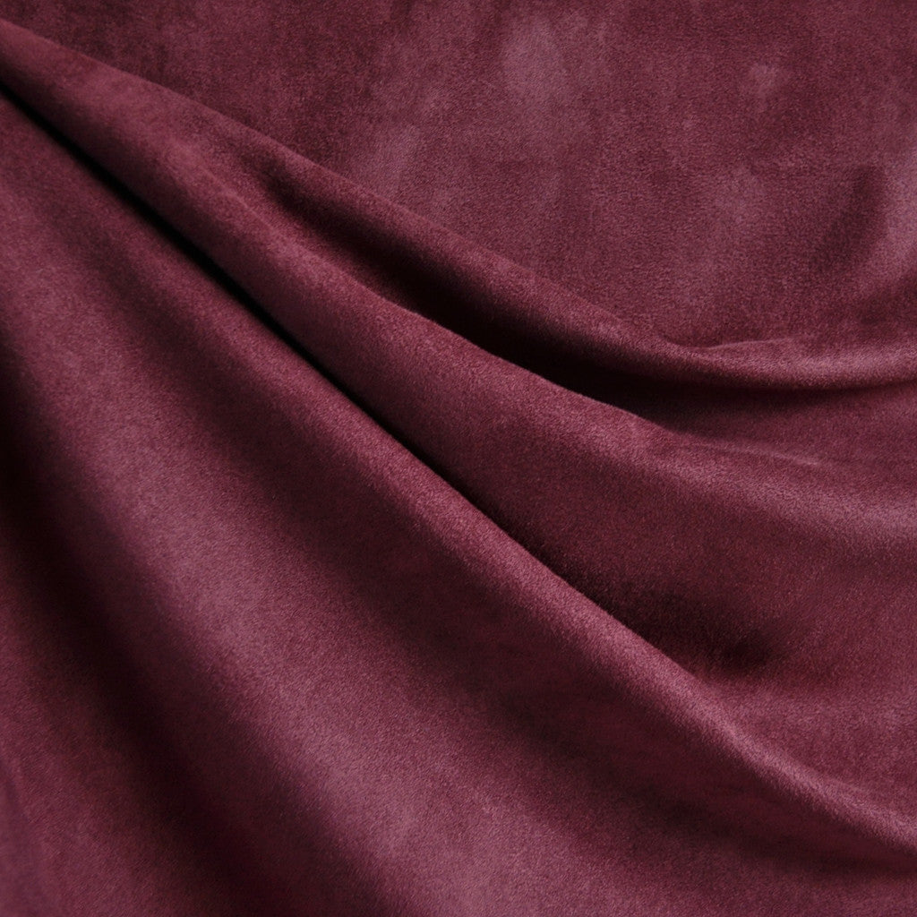 Soft Suede Shirting Wine - Fabric - Style Maker Fabrics
