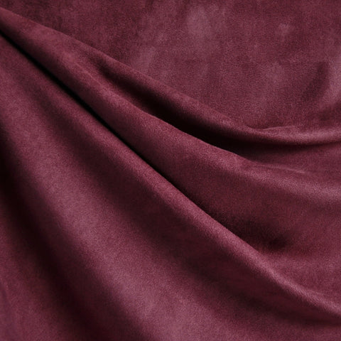 Soft Suede Shirting Wine