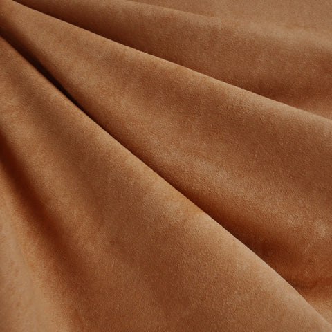 Soft Suede Shirting Chestnut