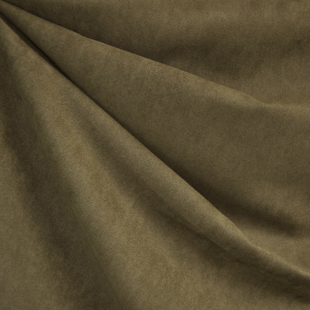 Soft Suede Shirting Olive - Fabric - Style Maker Fabrics