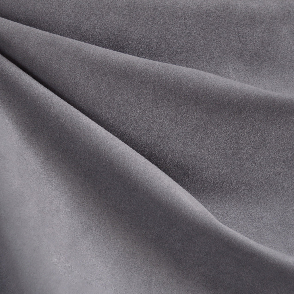 Soft Suede Shirting Pewter - Fabric - Style Maker Fabrics