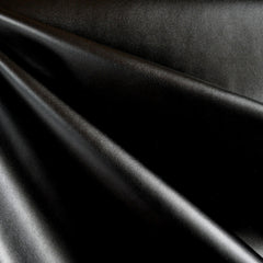Soft Stretch Faux Leather Black - Fabric - Style Maker Fabrics