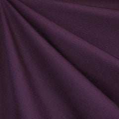 Classic Ponte Knit Solid Deep Plum SY - Sold Out - Style Maker Fabrics
