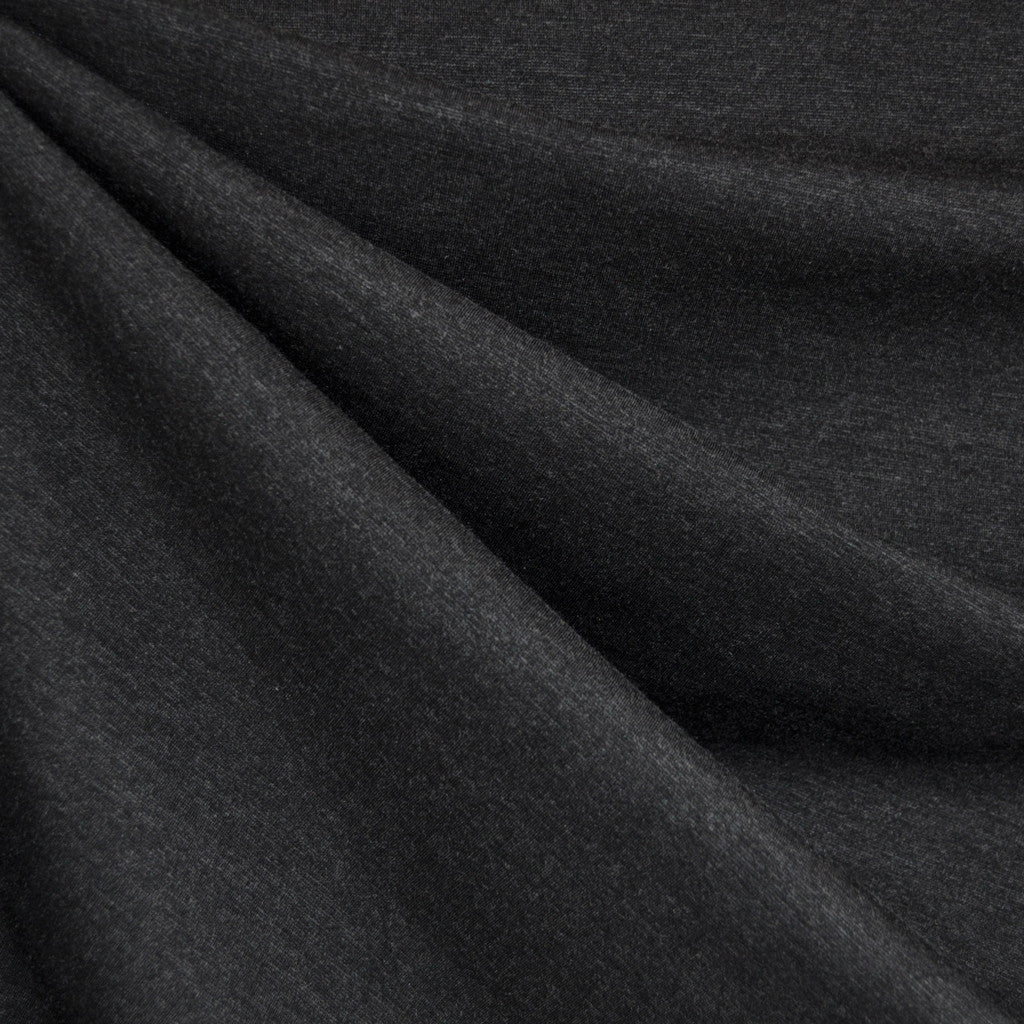 Classic Ponte Knit Solid Charcoal - Fabric - Style Maker Fabrics