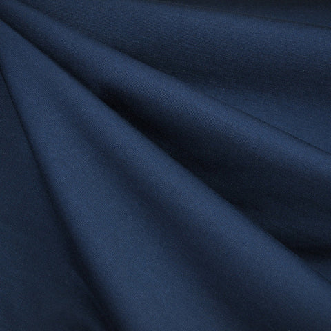 Classic Ponte Knit Solid Navy