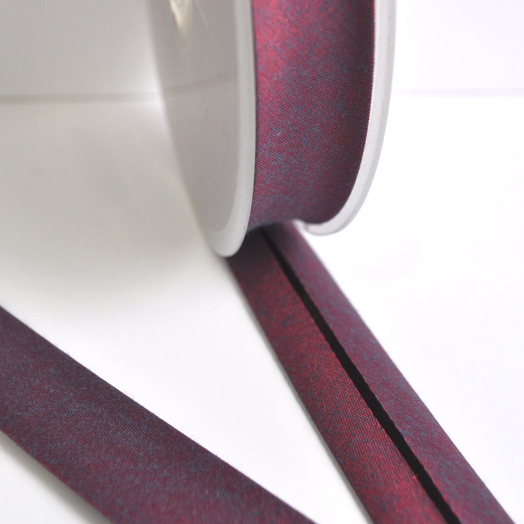 Iridescent Cross Woven Bias Tape - Trim - Style Maker Fabrics