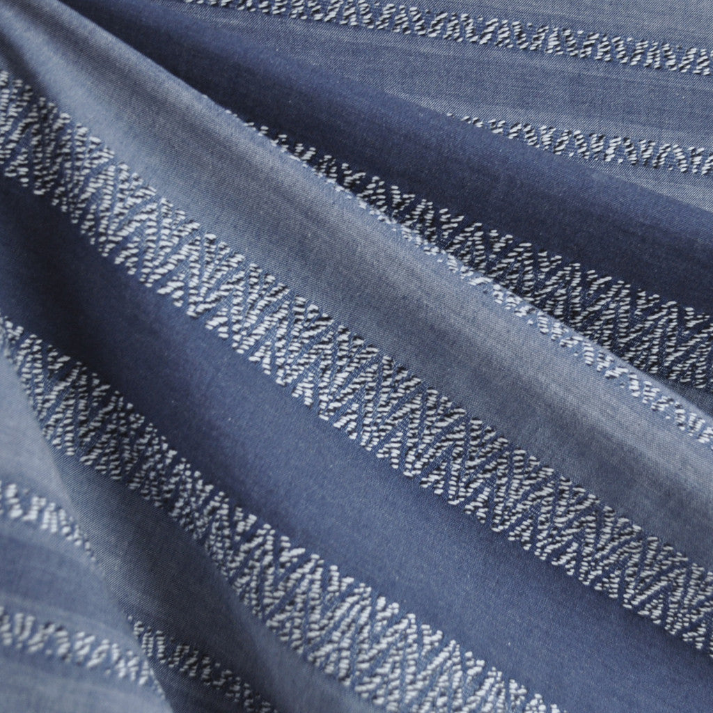 Woven Shirting Stripe Texture Denim - Sold Out - Style Maker Fabrics