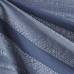Woven Shirting Stripe Texture Denim - Fabric - Style Maker Fabrics
