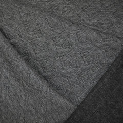 Reversible Quilted Geometric Knit Grey/Charcoal - Sold Out - Style Maker Fabrics