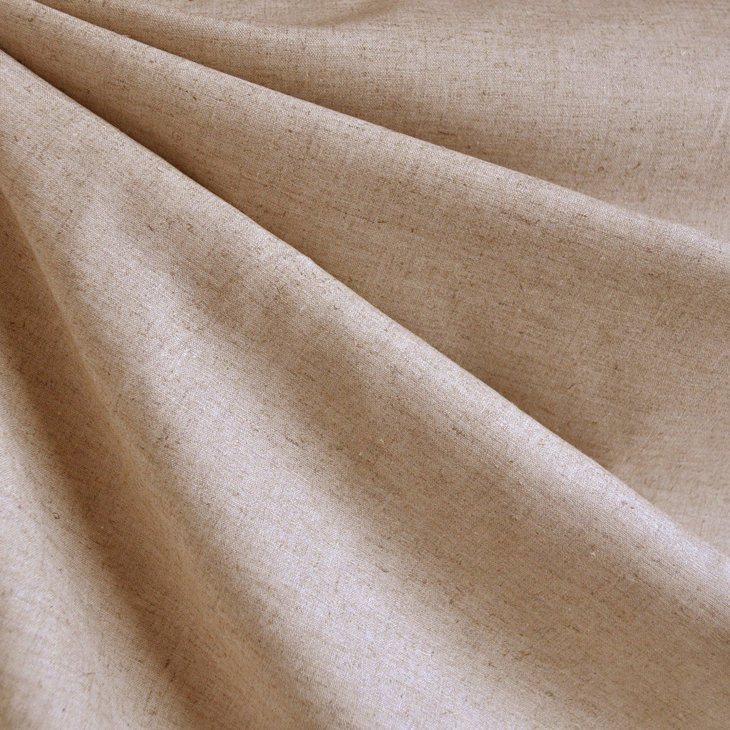 Linen Blend Shirting Flax - Fabric - Style Maker Fabrics