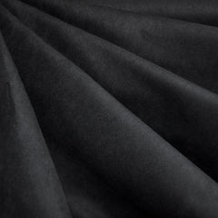 Soft Suede Shirting Black - Fabric - Style Maker Fabrics